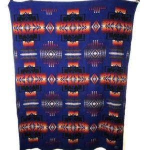 Vintage Pendleton Woolen Mills Blanket Made USA